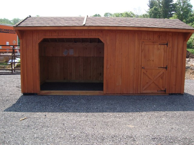 Walk-in Horse Barn